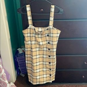 H&M plaid dress never worn